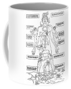 Zodiac Man, Medical Astrology Coffee Mug
