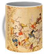 Zodiac Signs From Indian Manuscript Coffee Mug by Science Source