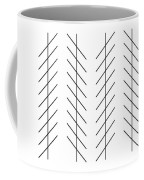 Zoellner Illusion Coffee Mug