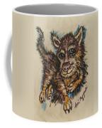 Blue Eyed Husky Coffee Mug