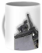 # 4 Paris France Coffee Mug