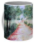 A Country Road Coffee Mug