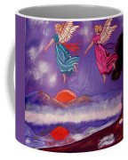 A Feather From The Breath Of God Coffee Mug