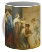 A Group Of Female Mourners At The Tomb Of Achilles Coffee Mug