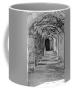 Archway At Moravian Pottery And Tile Works In Black And White Coffee Mug