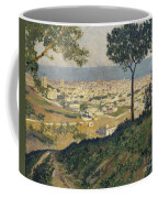 Barcelona Seen From Vallvidrera Coffee Mug