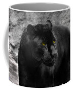 Black Leopard Coffee Mug