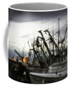Boats With Sprays Of Light Coffee Mug