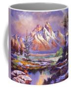 Breaking Winter Sunlight Coffee Mug