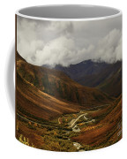 Brooks Range, Dalton Highway And The Trans Alaska Pipeline  Coffee Mug