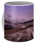 Canadian Harbor At Dusk  Coffee Mug