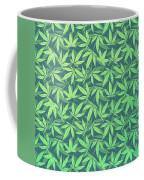 Cannabis   Hemp  420   Marijuana  Pattern Coffee Mug