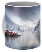 Dawn At Hamnoy On The Lofoten Islands Coffee Mug