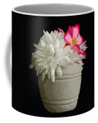 Desert Rose   Chrysanthemum And Adenium Obesum Coffee Mug
