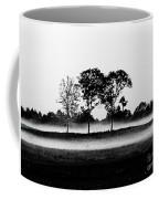 Evening Mist Black And White Coffee Mug