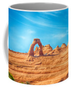 Famous Delicate Arch In Arches National Park Coffee Mug