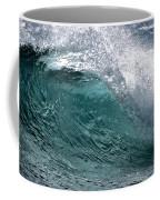 Green Cresting Wave, Hawaii Coffee Mug