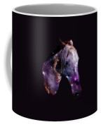 Horse In The Small Magellanic Cloud Coffee Mug by Anastasiya Malakhova