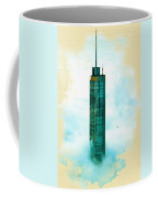 Illustration Of  Trump Tower Coffee Mug