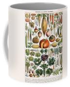 Illustration Of Vegetable Varieties Coffee Mug
