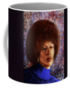 Impassable Me - Angela Davis1 Coffee Mug by Reggie Duffie