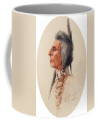 Indian Brave Coffee Mug by Celestial Images
