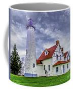 Lighthouse At Point Iroquois Coffee Mug