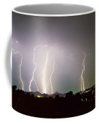 Lightning Thunderstorm View From Oaxaca Restaurant   Coffee Mug
