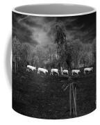 Line Of Cows Coffee Mug