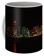 Madison Wi Skyline At Night Coffee Mug