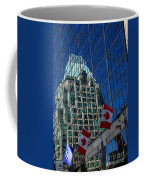 Modern Architecture - City Reflection Vancouver  Coffee Mug