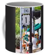 # One Stolen Sign Key West  Coffee Mug