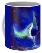 Peacock Blue Coffee Mug