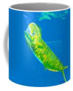 Prized Dolphin Painting Coffee Mug