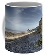 Reculver From Bishopstone Beach Coffee Mug