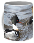 Red-breasted-merganser-ducks Coffee Mug