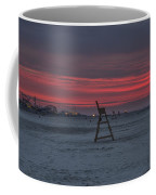 Red Sky In The Morning - Wildwood New Jersey Coffee Mug