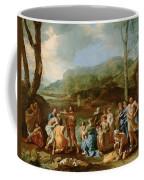 Saint John Baptizing In The River Jordan Coffee Mug