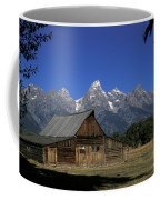 South Moulton Barn Grand Tetons Coffee Mug