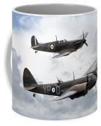 Spitfire And Blenheim Coffee Mug