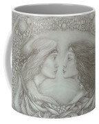 Spring Lovers With Snowdrops Coffee Mug
