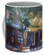 Starbucks Hangout Coffee Mug by Ylli Haruni