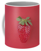 Strawberry In Red I Coffee Mug
