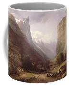 Swiss Scene Coffee Mug by Samuel Jackson