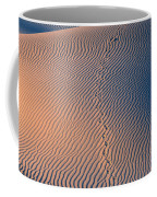 Tracks At First Light In Death Valley Coffee Mug
