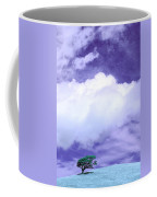 Tree Clouds Hill Coffee Mug