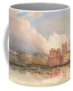 View Of Lambeth Palace On Thames Coffee Mug