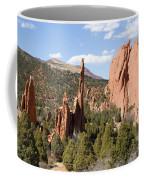 West Garden Of The Gods Coffee Mug
