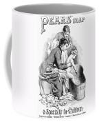 Pears' Soap Ad, 1887 Coffee Mug