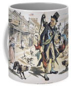 Prohibition  Cartoon, 1889 Coffee Mug